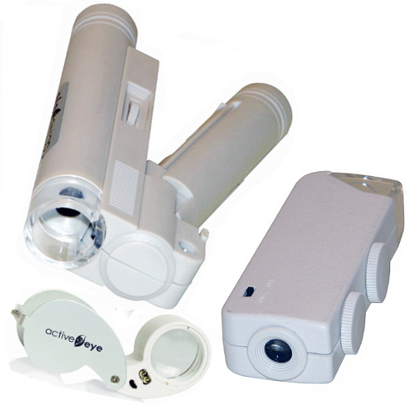 Active Eye Microscope