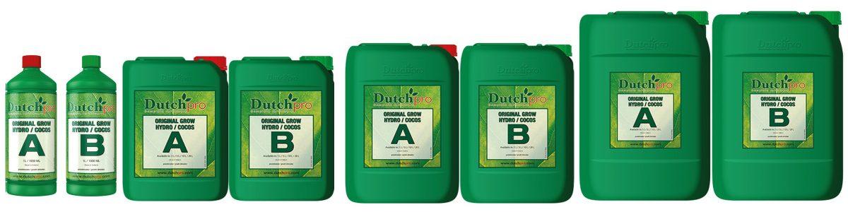 Dutchpro Hydro/Coco Grow A+B