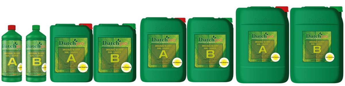 Dutchpro Soil Bloom A+B Auto Flower