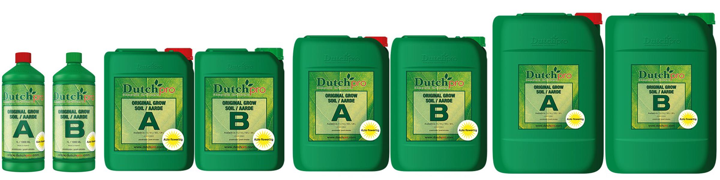Dutchpro Soil Grow A+B Auto Flower