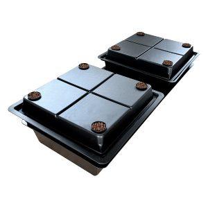 Amazon Aeroponic System - Large Hole Twin Unit-0