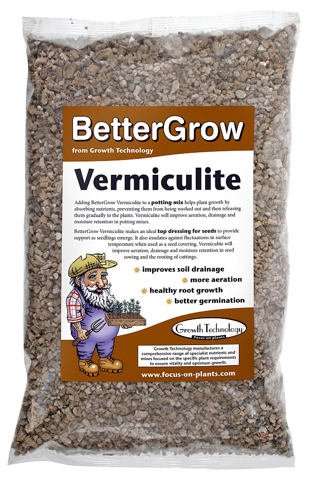 BetterGrow Vermiculite – 2 Litres