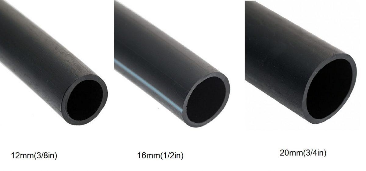 Black Tubing LDPE