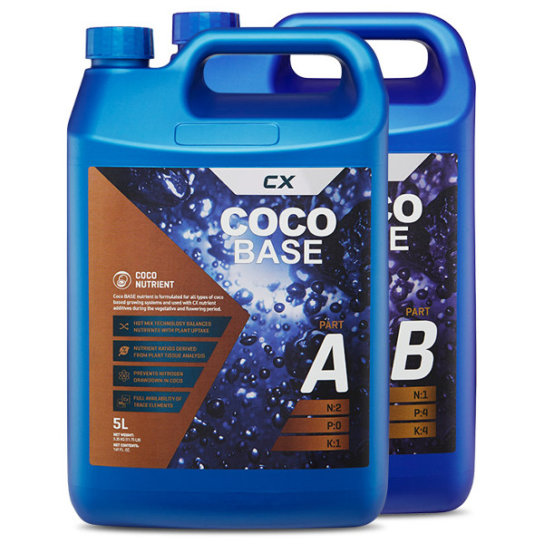 CX Horticulture Coco Base A&B