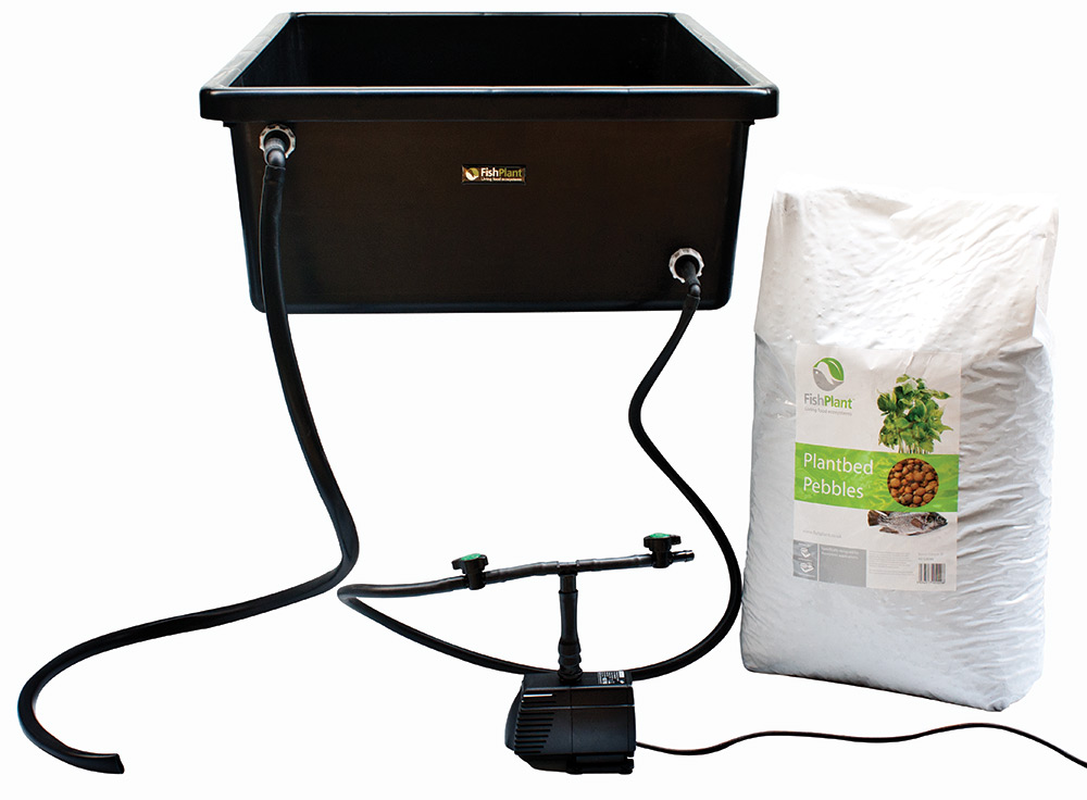 FishPlant Retro-Fit Grow Bed Unit
