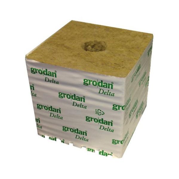Grodan Rockwool 'Hugo' Cube  6″