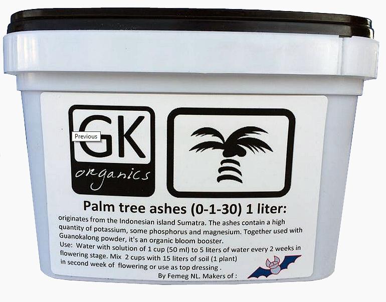 Guanokalong Palm Tree Ash