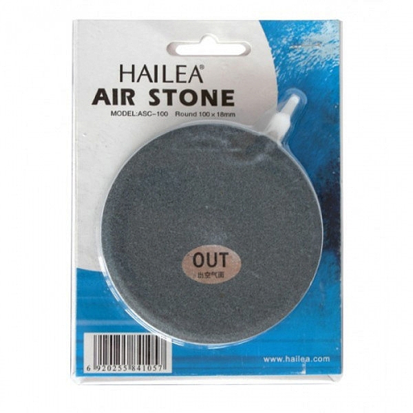 Hailea Ceramic Flat Round Air Stone – 100mm