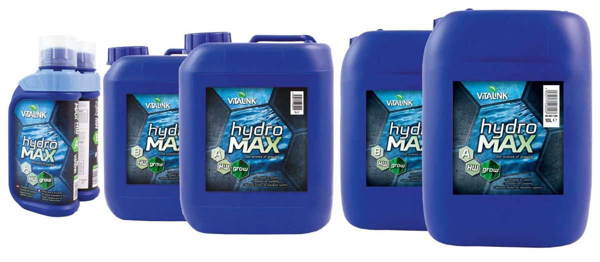 Vitalink Hydro MAX Grow A&B Sets