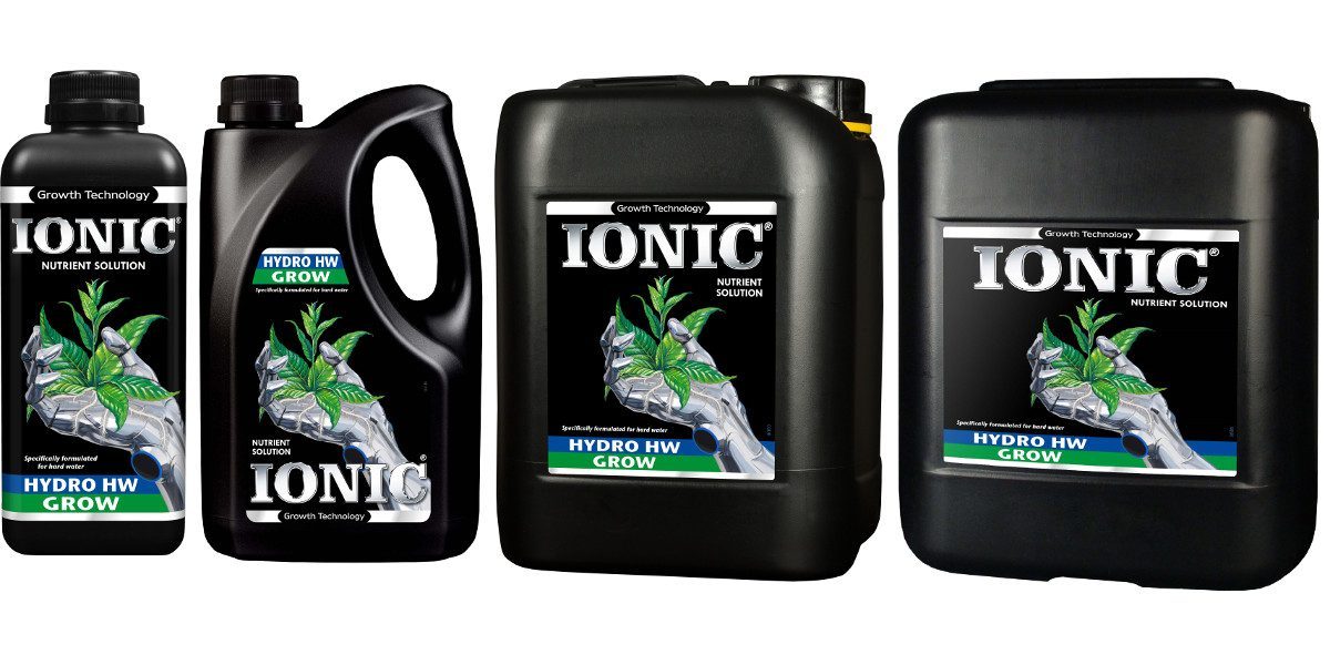 IONIC Hydro Hard Water Grow