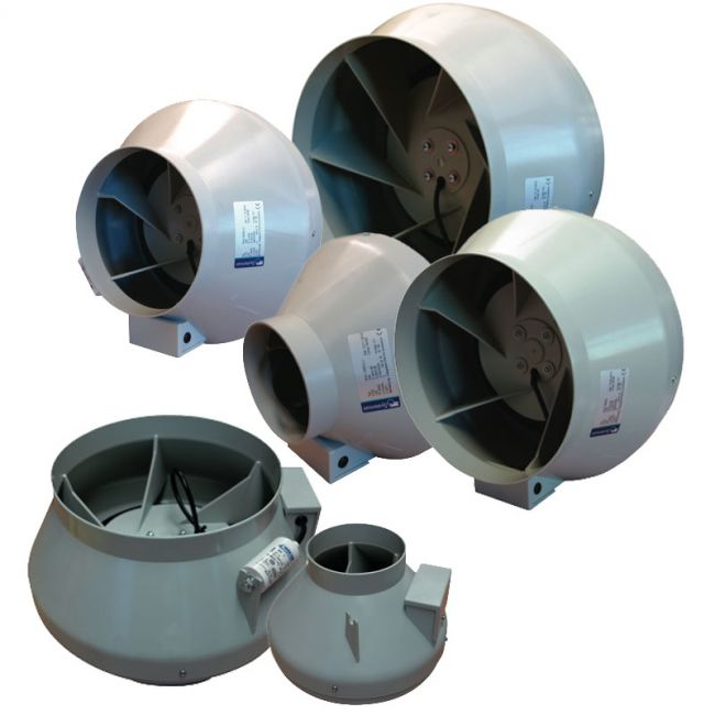 RVK In-line Duct Fans