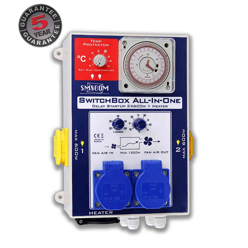 Smscom Switchbox All In One 2 Way Controller Sw B2l 0